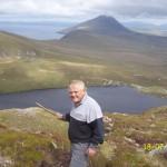 Walking on Croaghan